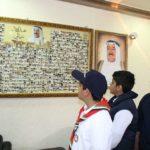 مشاركة مكتب الشهيد بإحتفالية رفع العلم وإفتتاح جدارية الشهداء ( هذولا عيالي ) بجميع المحافظات